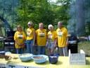 Cookout volunteers!