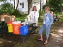 Scenes from the Rachel Carson Homestead Finish
