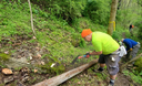 No shortage of trail work